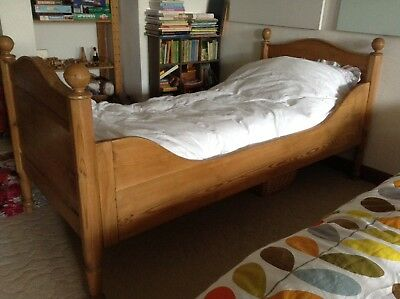 Antique Single Sleigh Bed