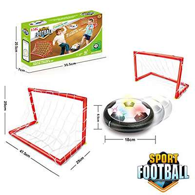 Air Power Soccer Ball,Kids Sports Toys Training Football Goal Set with 2 Gates
