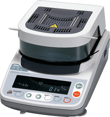 A&D ML50 Moisture Analyzer