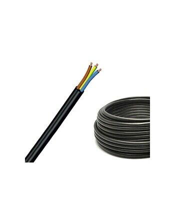 Cable PVC H03VV-F 4X0,50 Black