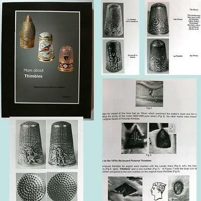 "New ""More About Thimbles"" Reference Book Vol 2 * William & Magdalena Isbister"