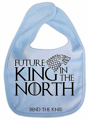 "Game Thrones Latz /"" Future King in The North /"" Baby Got Fütterung Lätzchen"