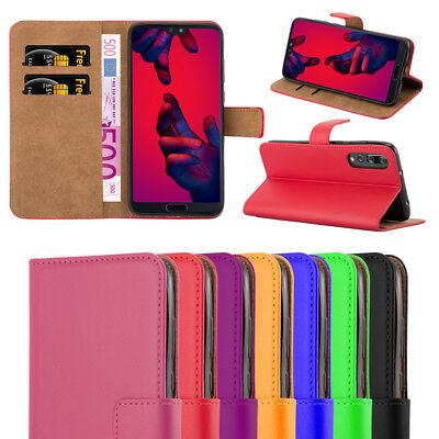 Huawei P20 / P20 Pro / P20 Lite Phone Case Magnetic Flip Leather Wallet Cover