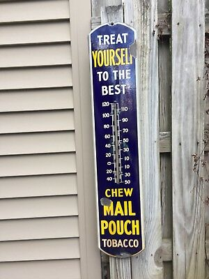 Chew Mail Pouch Thermometer