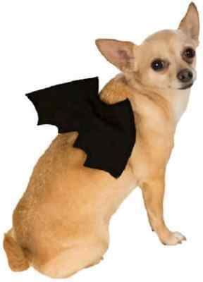 Bat Wings Vampire Black Cute Fancy Dress Up Halloween Pet Dog Cat Costume