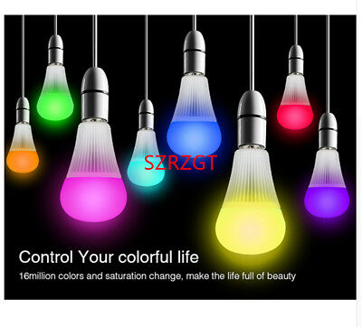 Mi Light RGB CCT LED Bulb MR16 GU10 E14 E27 RGBW RGBWW LED Lamp 4W 5W 6W 9W 12W