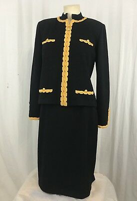 ST JOHN COLLECTION BY MARIE GRAY Womens Skirt Suit -Jacket Sz Small, Skirt Sz 10