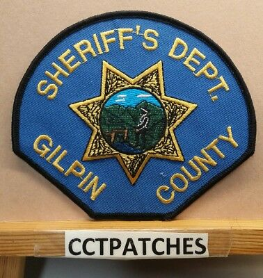 Gilpin County, Colorado Sheriff (Police) Shoulder Patch Co