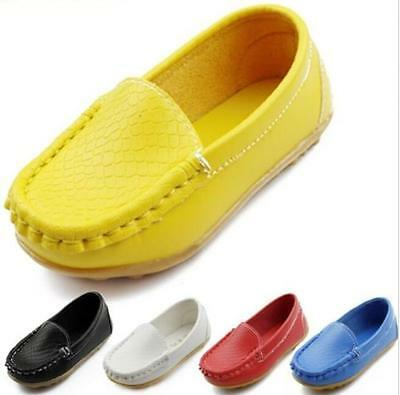 Hot Boy's Flats Boat Girl's Casual Oxfords Baby Loafer Pumps Child Sell Shoes