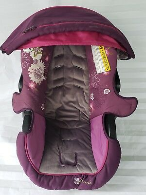 GRACO SNUGRIDE 22 30 Baby Girl Infant Car Seat Cover Canopy Purple ...
