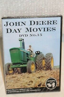 John Deere Day Movie DVD No. 15 John Deere Day 1966 Two Cylinder Exclusive