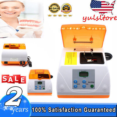 Dental Digital LCD Amalgamator Fast Speed amalgam Capsule Mixer UPS 110V 20W