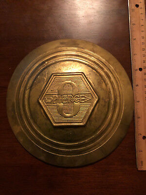 "Pierce Arrow Hubcap Bronze Stamp Replica 8"" diameter"