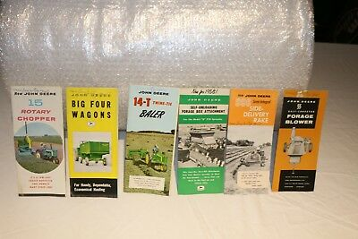 John Deere Brochures VINTAGE Hay Equipment  Brochures Orginals (6)