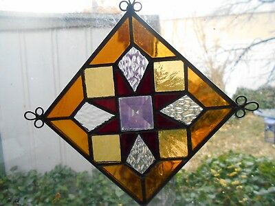 Stained Glass   Lamp / Window Panel Mini