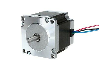ACT MOTOR GmbH 1PC Nema23 Stepper Motor 23HS6430 56mm 3A 4Leads 1.1Nm φ6.35mm