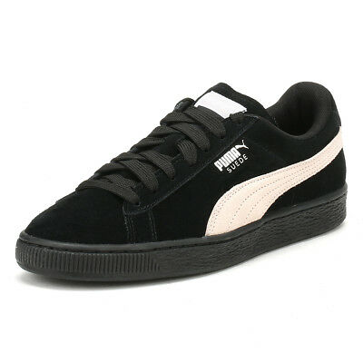d4295c77a68a PUMA Womens Black   Pearl Suede Classic Trainers Lace Up Sport Casual Shoes