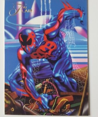 Marvel Trading Card 94 Flair ( Promo Karte )