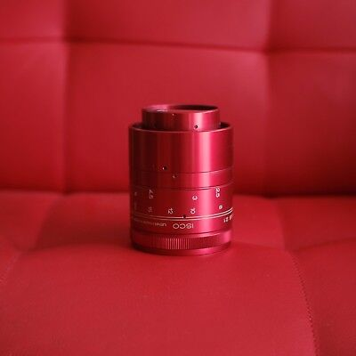 + ISCO Ultra Star RED anamorphic cinemascope lens adapter in like new condition!