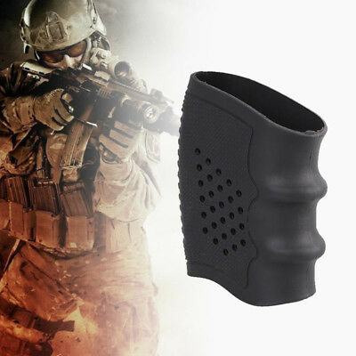 Tactical Slip On Rubber Cover Hand Grip Glove Anti-slip Sleeve Handle Sleeve