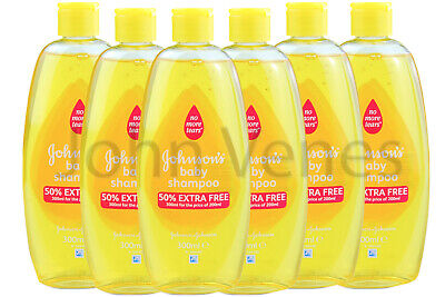 JOHNSON'S | Baby Shampoo 300ml (6 Pack) 50% EXTRA FREE | FREE DELIVERY