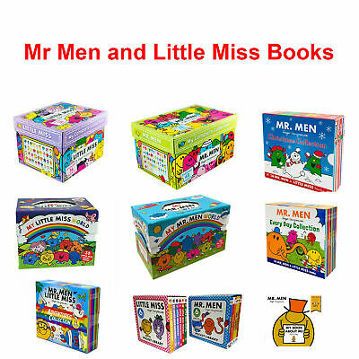 Mr. Men Little Miss Complete Childrens Collection Box Set Roger Hargreaves Books