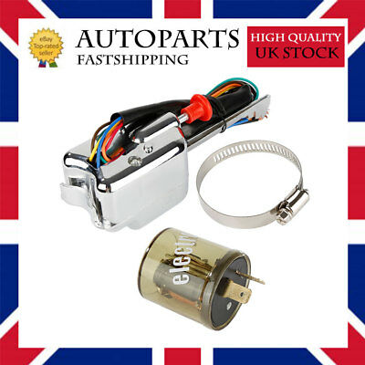 Auto 12V Street Rod Turn Signal Switch Flasher For Ford Buick AP7#