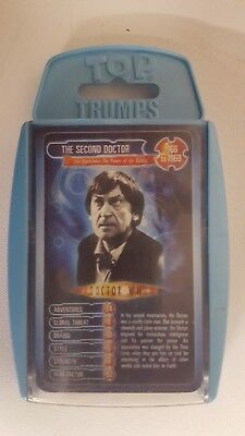 Tops Trumps,Doctor Who,The Second Doctor Trading Cards Pack