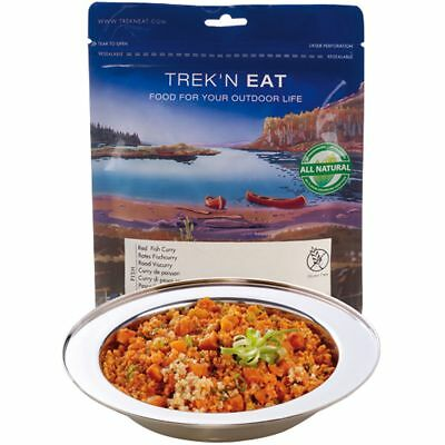 Trek'n Eat Rotes Fischcurry Trekkingnahrung Outdoor-Essen NEU