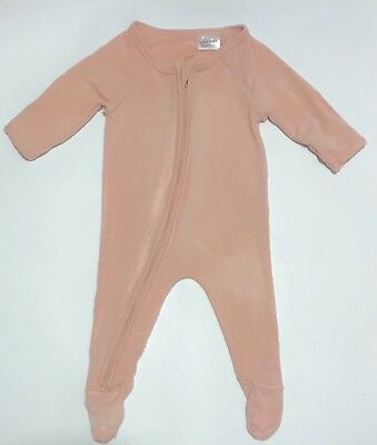 BOODY BABY ORGANIC BAMBOO ONSIE layette one piece coverall sleep suit 0000 NB