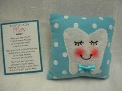 Ganz Tooth Fairy Pillow Blue