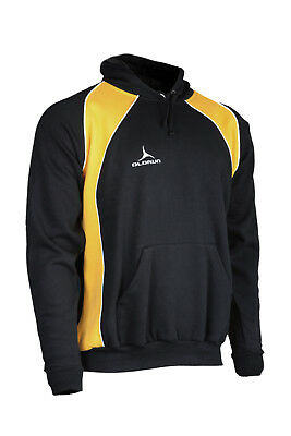 Olorun Hoodies Black/Amber SB-2XL (25 Hoodies Job Lot Any Size's Of Your Choice)