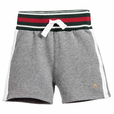 Gucci Baby Boys Grey Jersey Shorts 12-18 Months