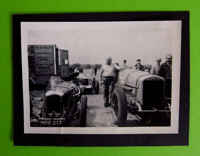 Vintage Motor Racing Photograph - AMILCAR - OWEN FINCH - NPA217