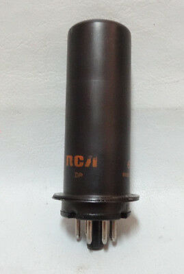 6L6 Rca Vintage Vacuum Beam Power Tube Very Strong Test