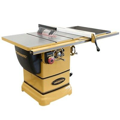 """NEW Powermatic 1791000K PM1000 Table Saw 1-3/4HP 1PH 30"""" Rip w/Accu-Fence System"""