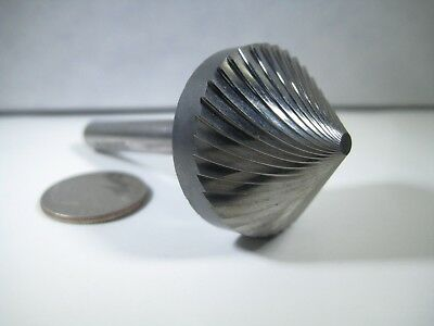 "Sgs Carbide 1"" End Mill 45 Degree Milling Cutting Chamfering Lathe Cnc Tool Bit"