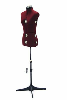 Female Adjustable Sewing Dress Form - Small Size - w/ Adjustable Stand