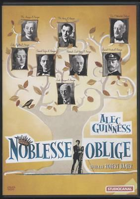 DVD NOBLESSE OBLIGE  PRICE HOBSON ALEC GUINNESS GREENWOOD HAM comme neuf