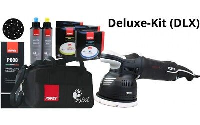 Rupes Lk900E Dlx Kit Dual Action Polisher 220-240V 125 Mm Backing Plate