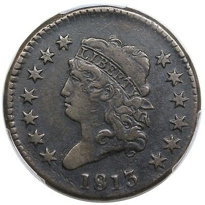 1813 Classic Head Large Cent, S-292, PCGS VF25