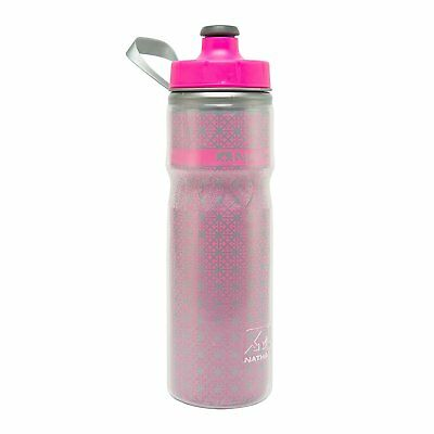 Nathan Sports Fire and Ice Insulated Leak Free 600ml Bottle