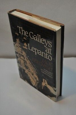 Jack Beeching ~ The Galleys at Lepanto ~ 1st Edition / 1st Printing ~ Hardcover