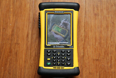 Trimble TDS Nomad 900GXE GPS GNSS Robotic Total Station Collector w/ Survey Pro