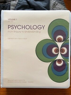 Psychology from inquiry to understanding paperback 2nd edition psychology from inquiry to understanding volume 1 psy 201 pcc custom edition 2nd fandeluxe Image collections