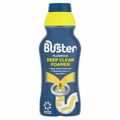 Buster Deep Clean Foamer For Plugholes & Overflows 500ml