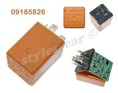 127-Vauxhall 92-05 Multi-Use 5-Pin Orange Relay GM 90459640 22210034 12V 40A