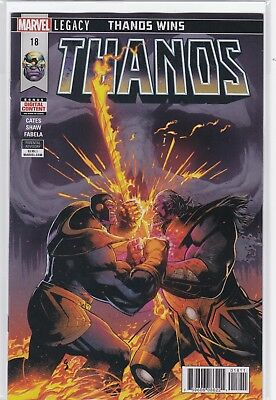 Thanos #18 Nmint+ 9.6 Cosmic Ghost Rider Last Issue 1St Print Cates Sold Out