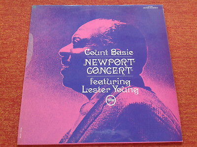 Count Basie Lester Young The Newport Concert 1957 Verve France