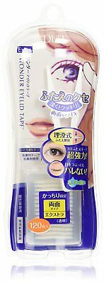 Japan D.UP Wonder Double Eyelid Tape EXTRA or MILD 120PC/Free Shipping Japan